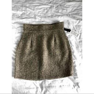 BB DAKOTA Tweed High Waisted Skirt
